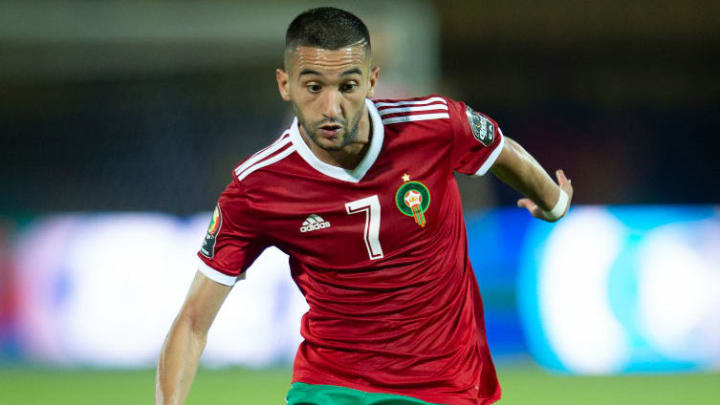 Ziyech's fantastic form continued with Morocco