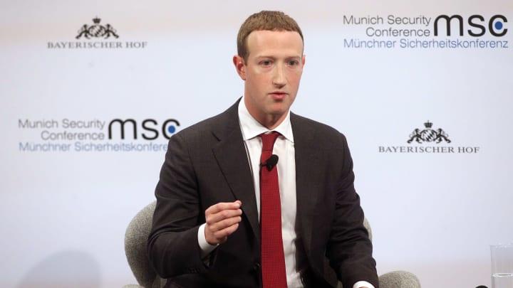 Mark Zuckerberg likes sunscreen.