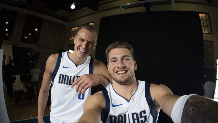 Dallas Mavericks Luka Doncic Kristaps Porzingis