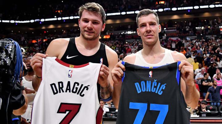 Dallas Mavericks Luka Doncic Goran Dragic
