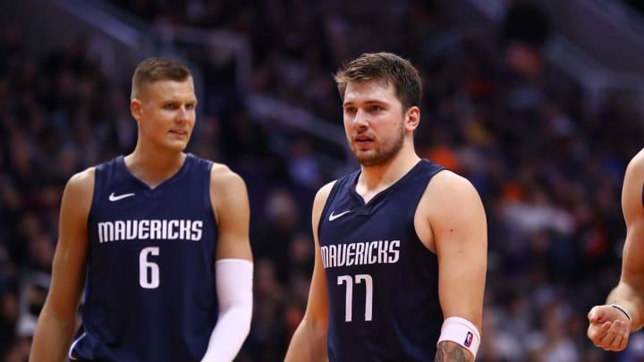 Dallas Mavericks, Luka Doncic, Kristaps Porzingis