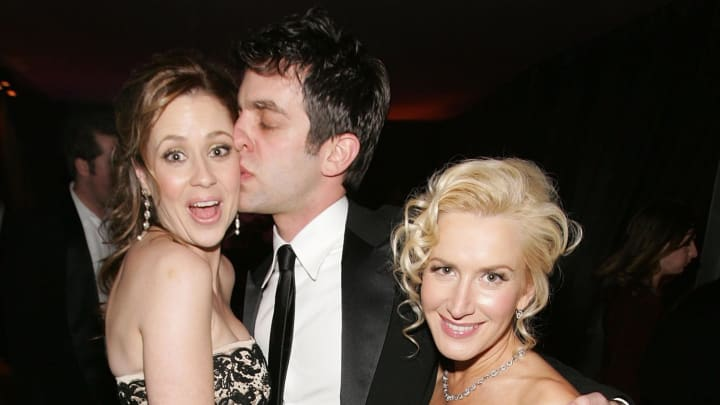 Jenna Fischer explained why she and BJ Novak went out drinking to prepare for a scene from 'The Office.'