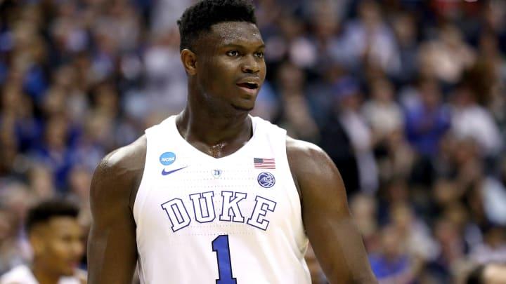 Duke superstar Zion Williamson