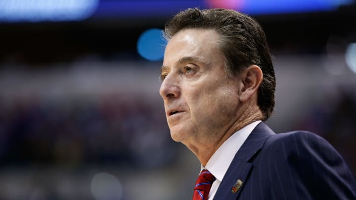 Former Louisville and current Iona men's basketball coach Rick Pitino