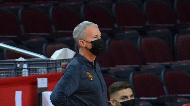 USC basketball head coach Andy Enfield.