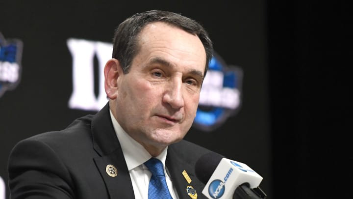 The end of the road has arrived for Mike Krzyzewski