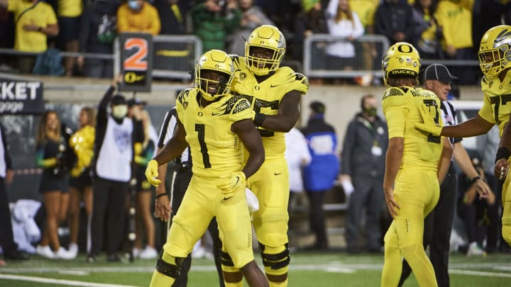 The No.3 Oregon Ducks have the seventh shortest odds to win the National Championship.