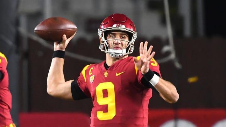 USC football quarterback Kedon Slovis