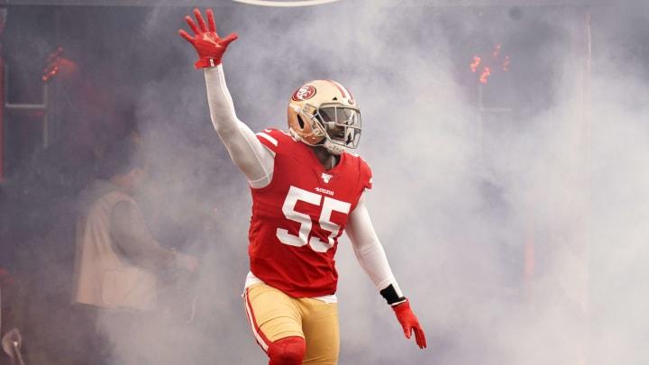 San Francisco 49ers defensive lineman Dee Ford