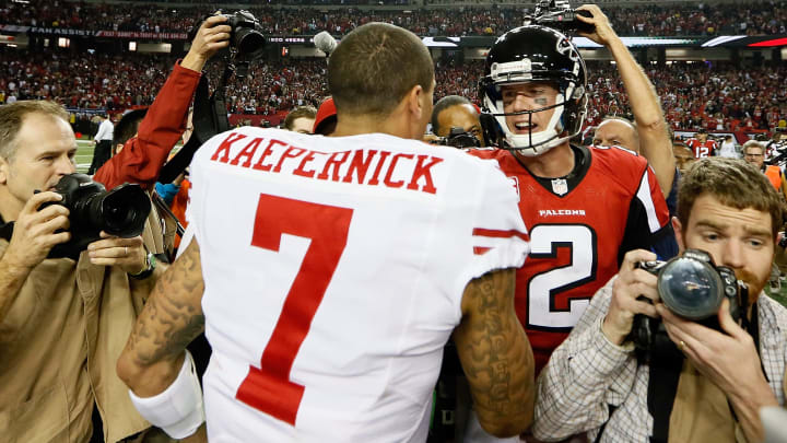 Colin Kaepernick, Matt Ryan