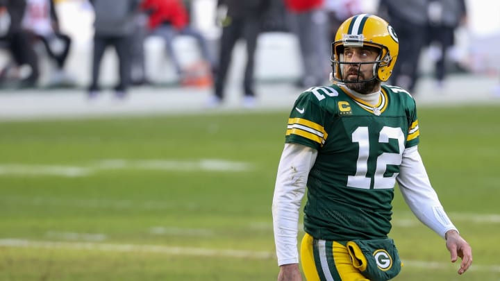 Aaron Rodgers' future in Green Bay is uncertain.