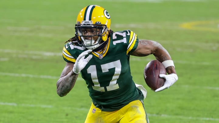 Davante Adams averaged the most receiving yards per game in the NFL in 2020.