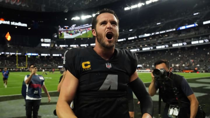 Derek Carr completed the dominance by the AFC and NFC West in Week 1.   Kirby Lee-USA TODAY Sports