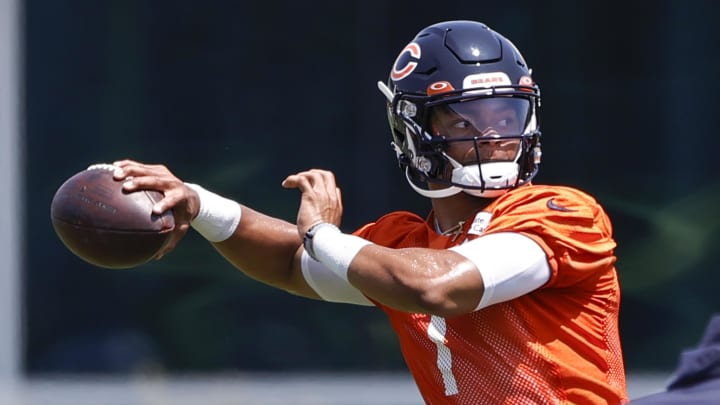 Bears fans are hoping that Justin Fields will be the franchise QB that they've been waiting for.