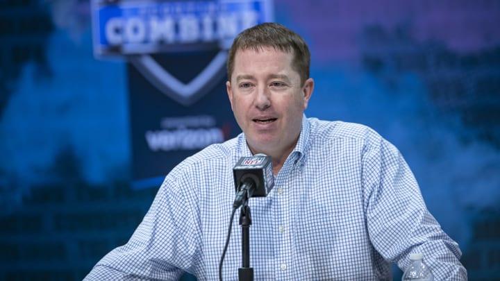 Bob Quinn, NFL Combine - Day 2