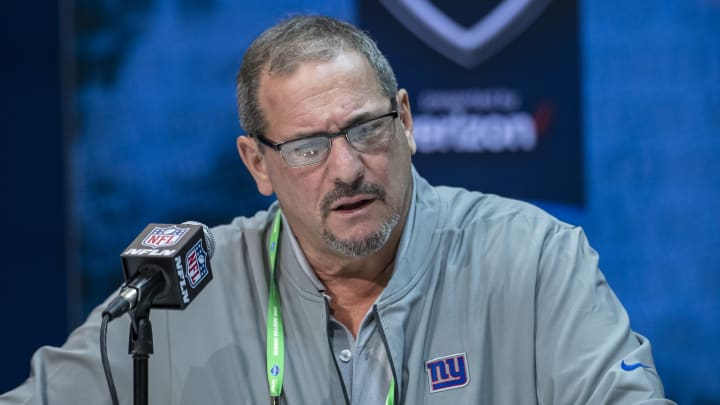 Dave Gettleman NFL Combine - Day 2