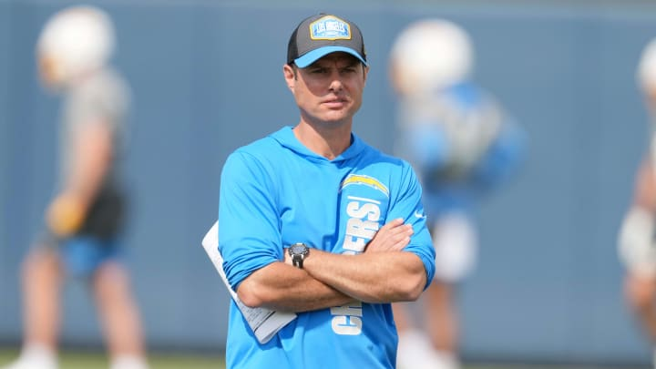 Los Angeles Chargers coach Brandon Staley