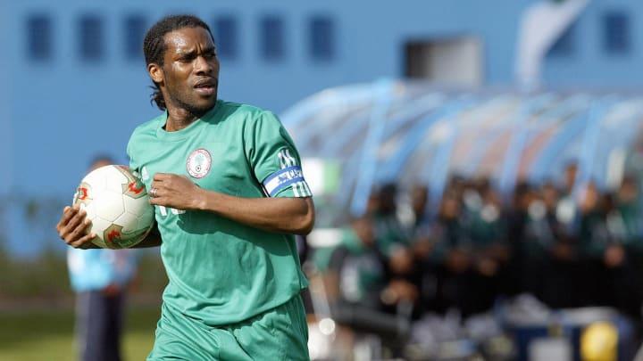 NIgeria's captain Augustine Jay-Jay Okoc