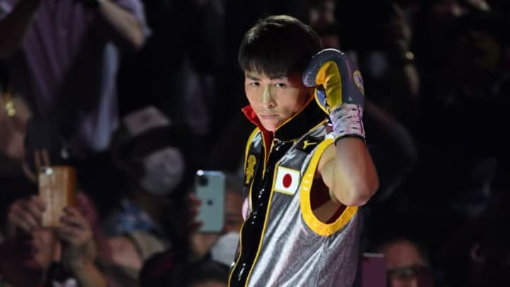 Japan's Naoya Inoue is one of the premier knockout artists in boxing today.