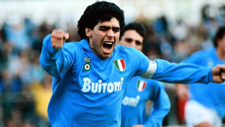 Diego Maradona festejó el título del Nápoli en las redes sociales