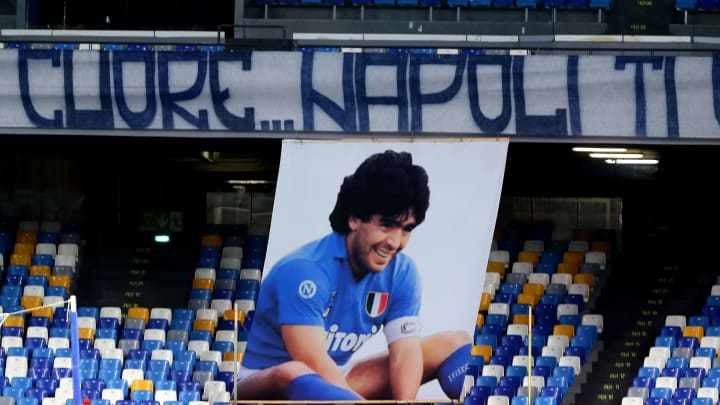 Maradona is the ultimate Napoli hero