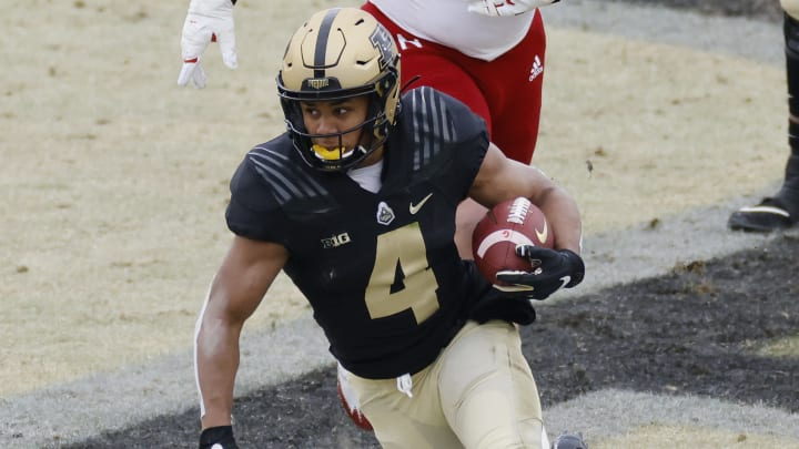Three teams most likely to draft Rondale Moore.