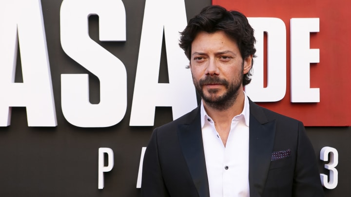 """""""El Profesor"""" es el protagonista de la serie La Casa de Papel"""