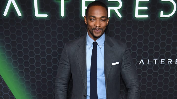Anthony Mackie provides update on new Marvel show 'The Falcon and the Winter Soldier.'