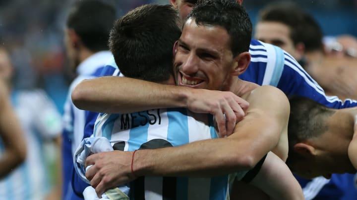 Lionel Messi, Maxi Rodriguez