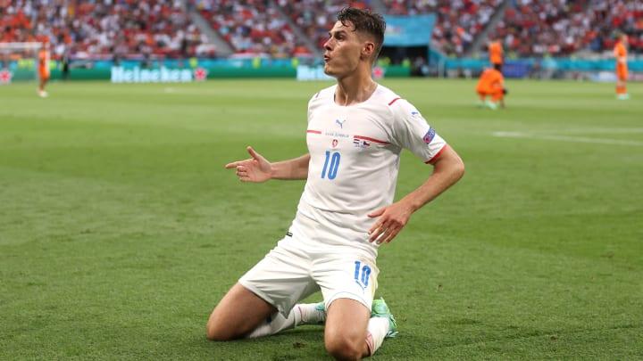 Patrik Schick was the Czech Republic's hero at Euro 2020