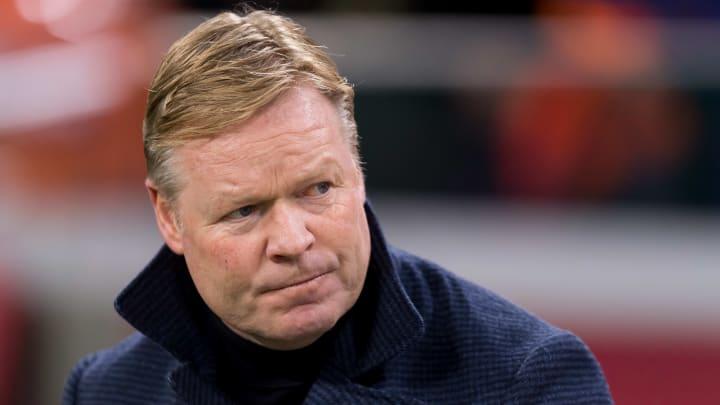 Netherlands manager Ronald Koeman