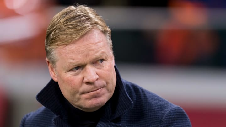 Koeman has left his role in charge of the Netherlands to return to Barcelona
