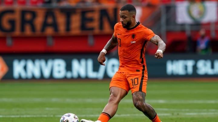 Memphis Depay Holanda Ucrânica Eurocopa Laranja Mecânica