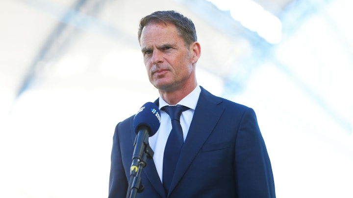 Niederlandes Nationaltrainer Frank de Boer erfährt zurzeit viel Kritik