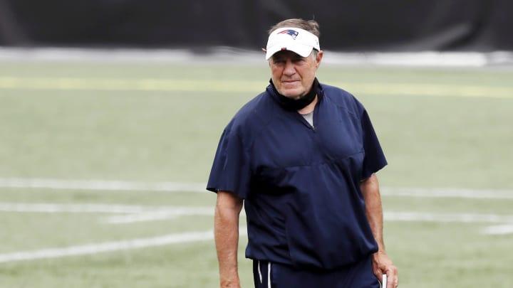 Bill Belichick, New England Patriots Training Camp