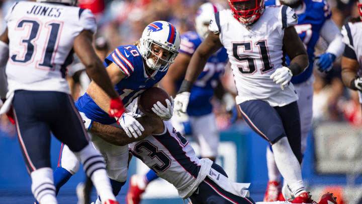 The Bills and Patriots will clash in Week 16