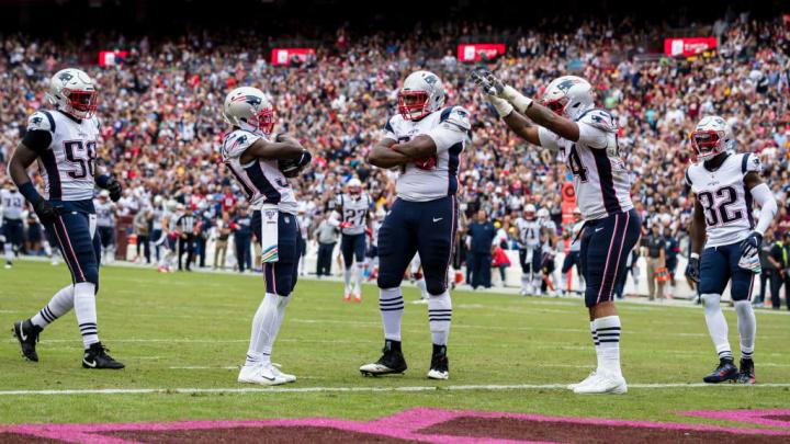New England Patriots v Washington Redskins