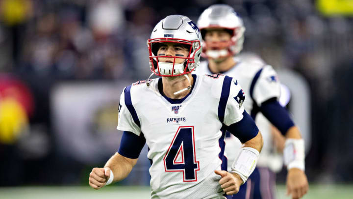 New England Patriots QB Jarrett Stidham could be the starter in 2020.