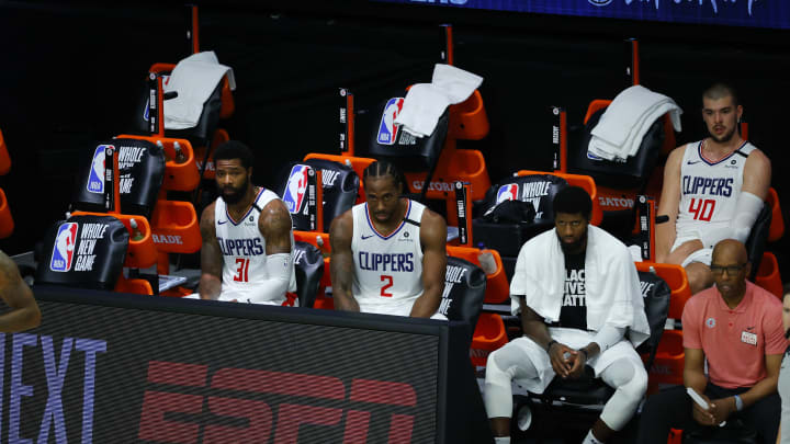 Clippers Bench