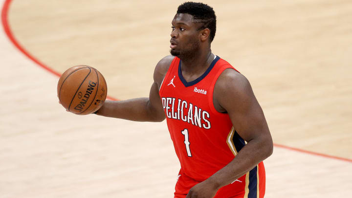 NBA FanDuel fantasy basketball picks and lineup tonight for 4/22/21, including Zion Williamson.