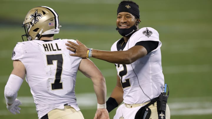 Taysom Hill and Jameis Winston