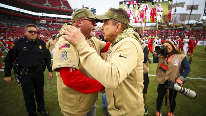Tampa Bay Buccaneers head coach Bruce Arians is keeping an eye on a surprise New Orleans Saints X-factor ahead of their playoff game,