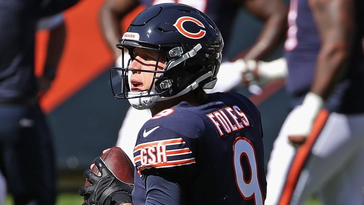 Colts vs Bears spread, odds, line, over/under and prediction.