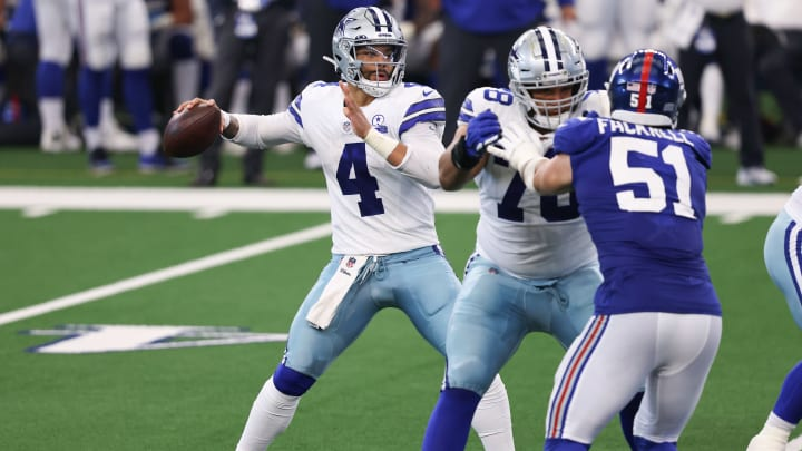 Dak Prescott headlines the list of free agent available QBs in 2021.