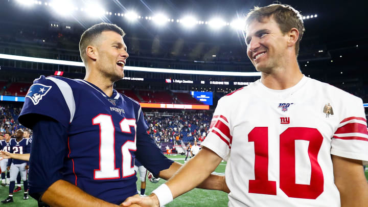 Eli Manning revealed that Tom Brady is still hung on his Super Bowl 42 loss.