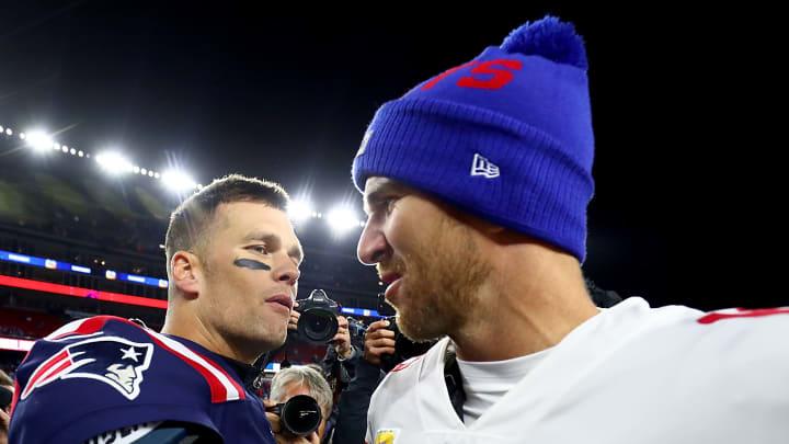 Eli Manning fue el gran villano para los Patriots y Tom Brady en dos Super Bowl