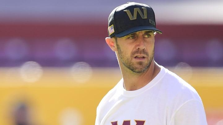 Washington quarterback Alex Smith.