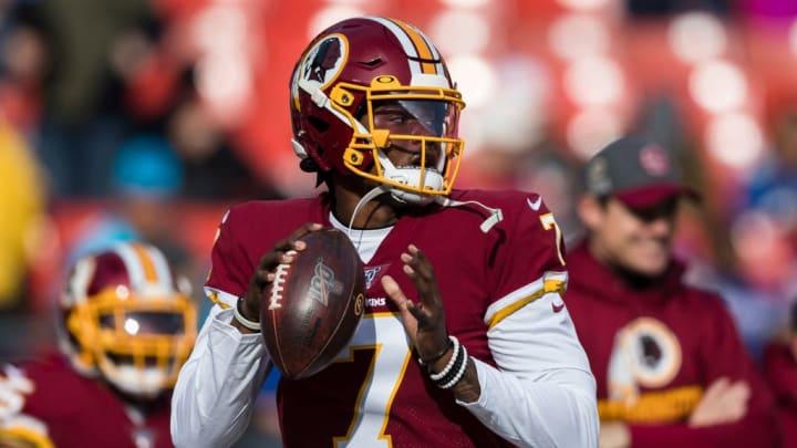 Washington Redskins QB Dwayne Haskins made seven starts as a rookie.