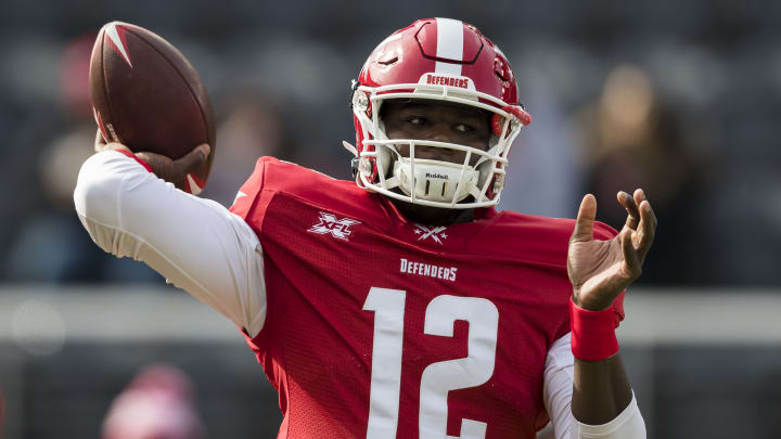 XFL Week 3 fantasy football rankings feature Cardale Jones in a plus matchup against the Wildcats.