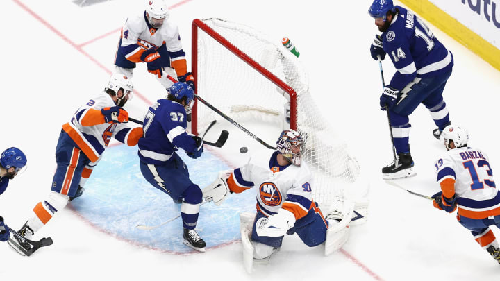 New York Islanders vs Tampa Bay Lightning Game 2 odds, betting lines, predictions, expert picks and over/under.